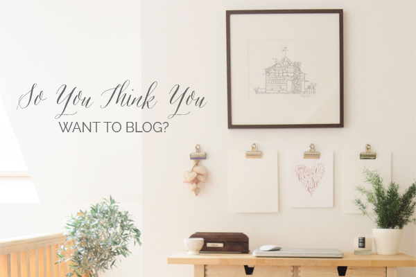 Read This Before You Start a Blog