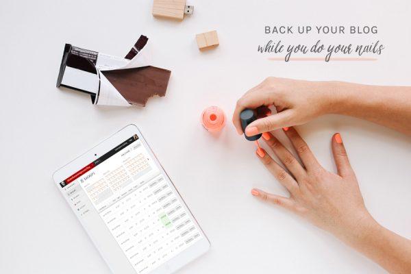 Back Up Your Blog